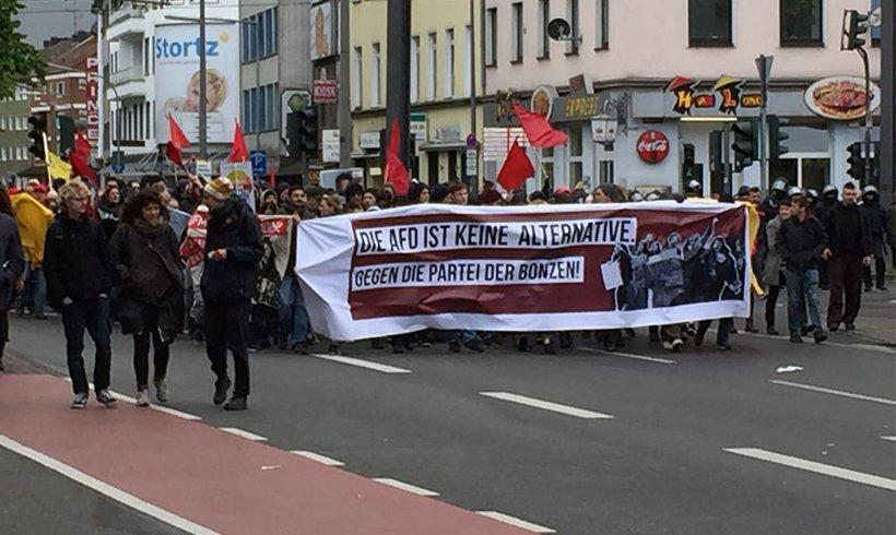 AfD sagt Mai-Kundgebungen nach Ankündigung von Protest ab