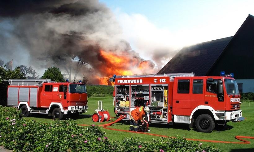 Brandanschlag auf Flüchtlingsunterkunft