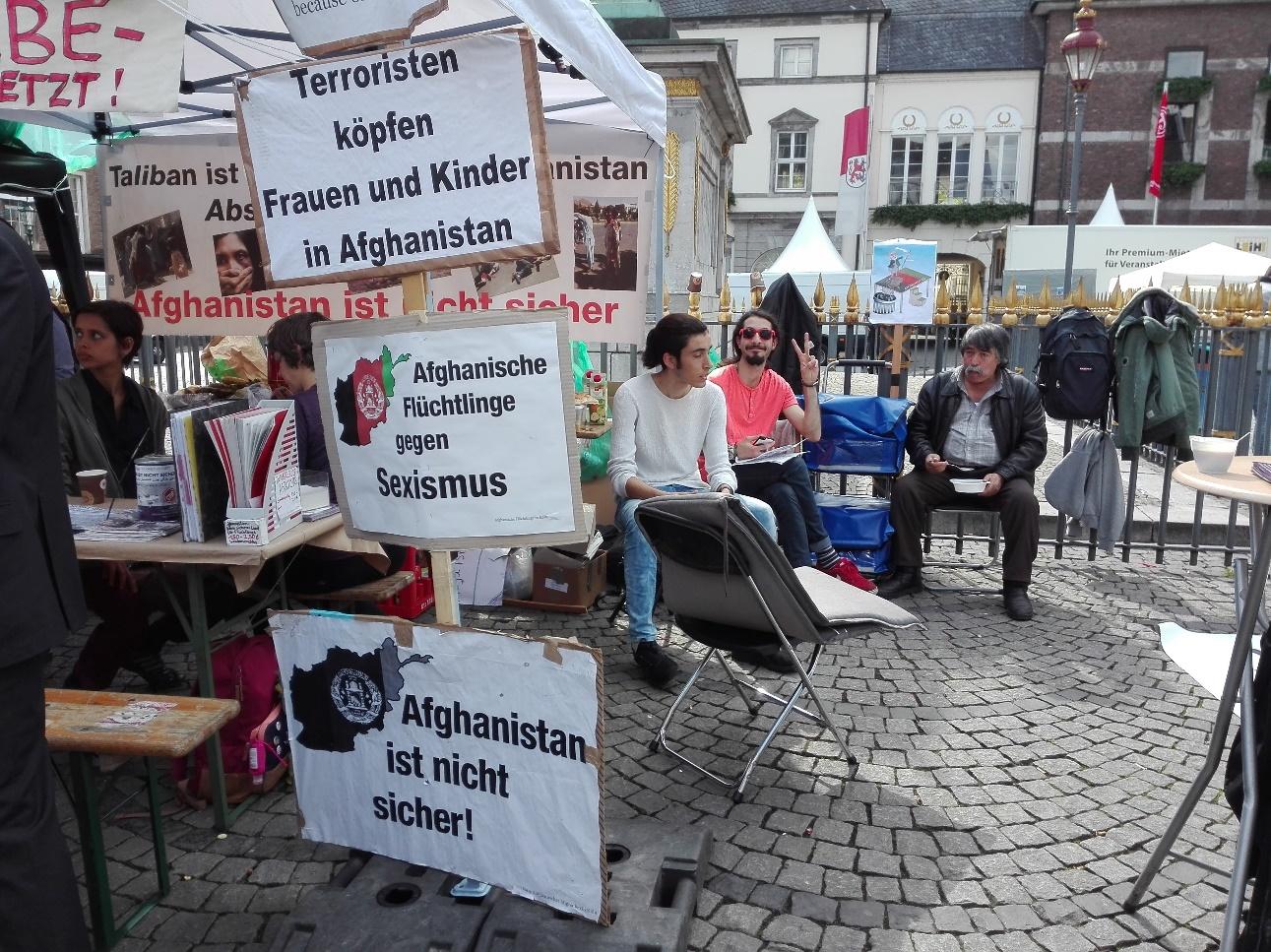 """Abschiebung nach Afghanistan ist Mord"""