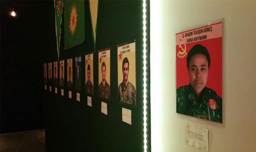 Hunderte gedenken in Celle der gefallenen InternationalistInnen