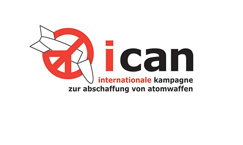 Friedensnobelpreis für die Forderung des Verbots von Atomwaffen