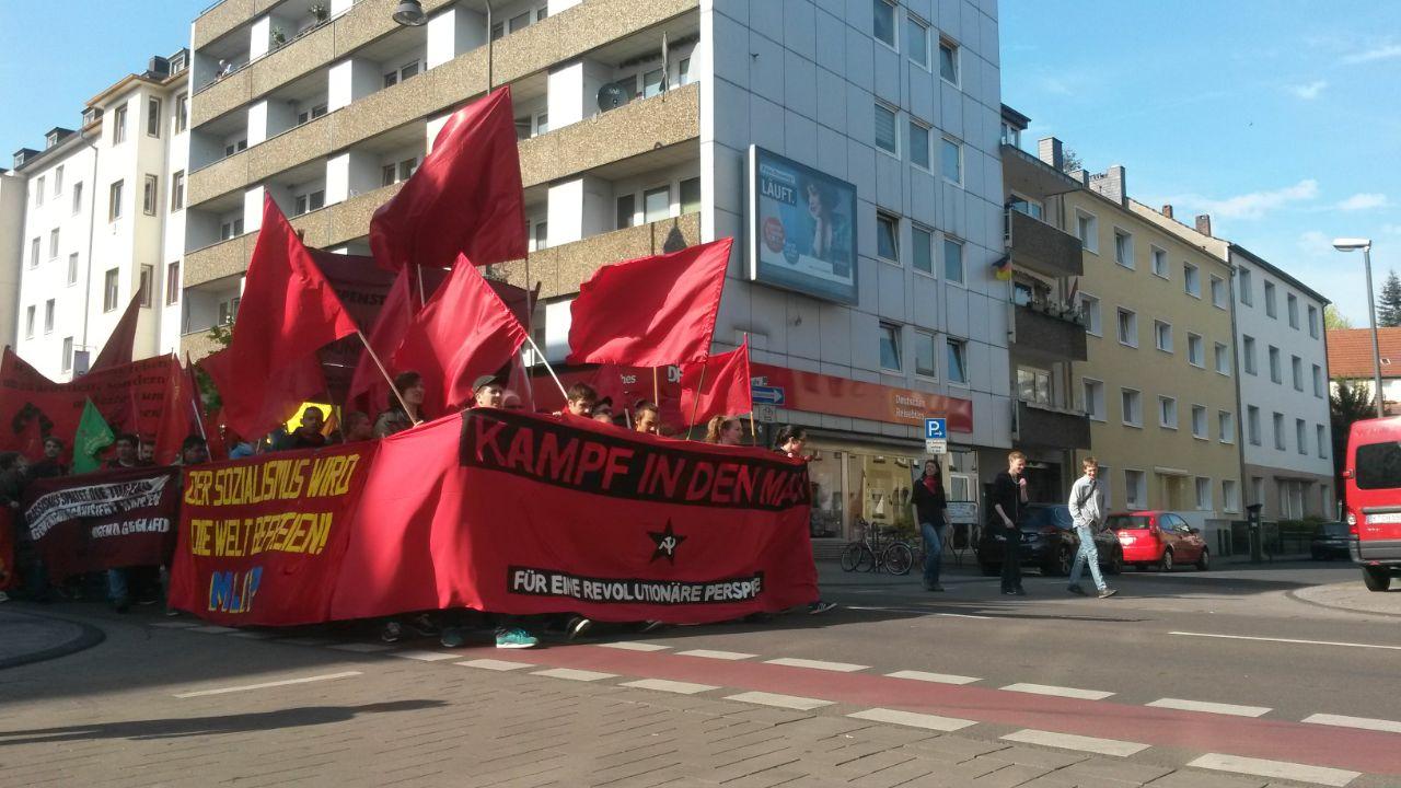 Revolutionäre 1.Mai-Aktionen in ganz Deutschland