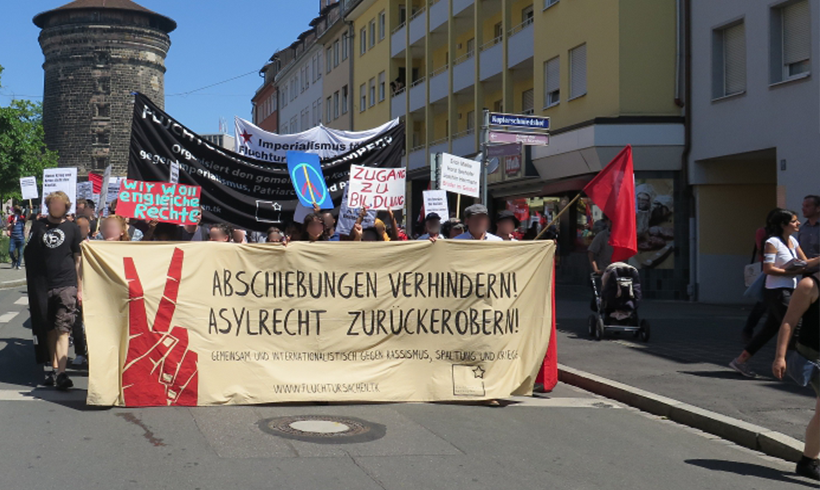 Hunderte demonstrieren in Nürnberg gegen Abschiebungen