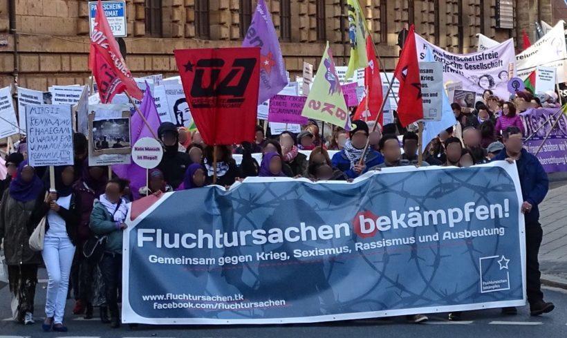 """Abschiebungsproteste in Nürnberg: """"Ein Zeichen, dass etwas in Bewegung kommt"""""""