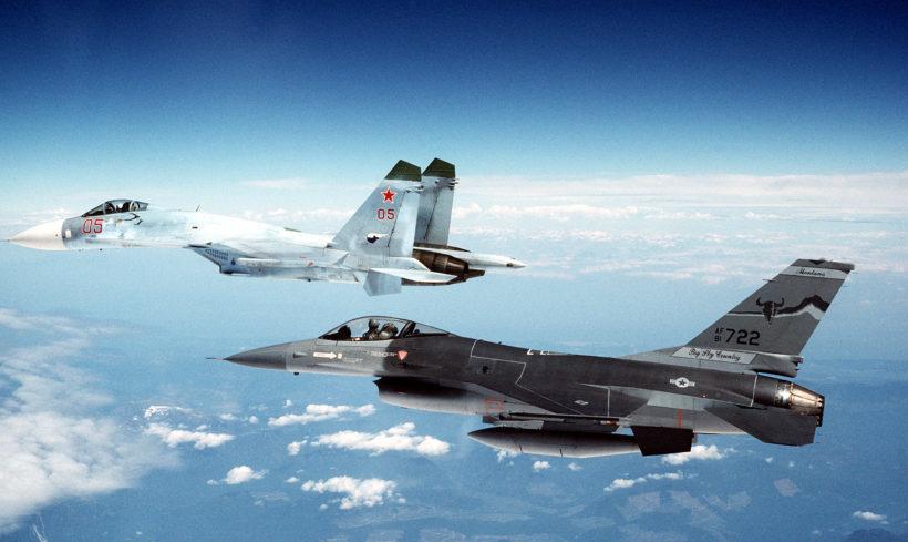 Kampf um den Luftraum über der Ostsee