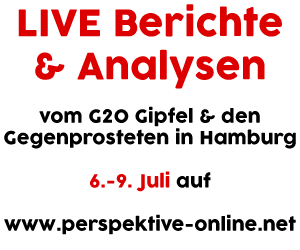 G20-GegnerInnen trotzen Versammlungsverboten in Hamburg