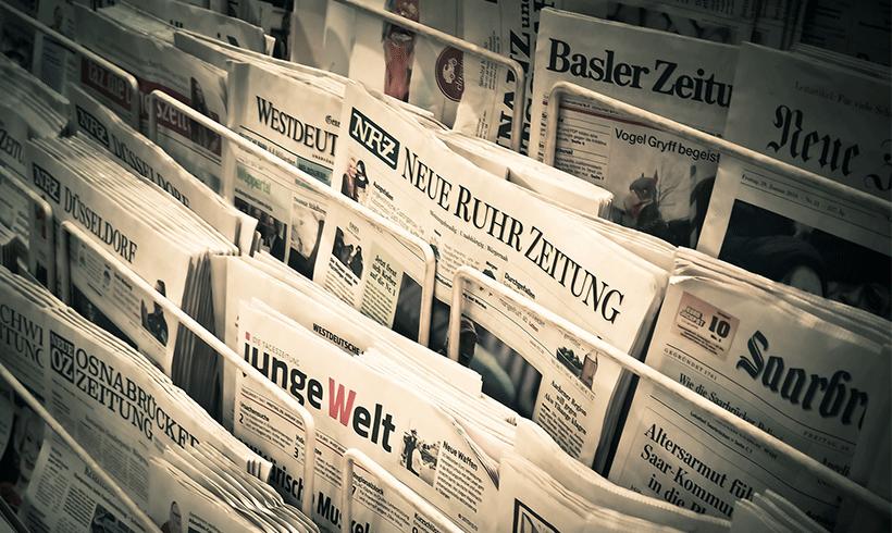 Vertrauen in Medien und Kirchen in Ostdeutschland besonders gering