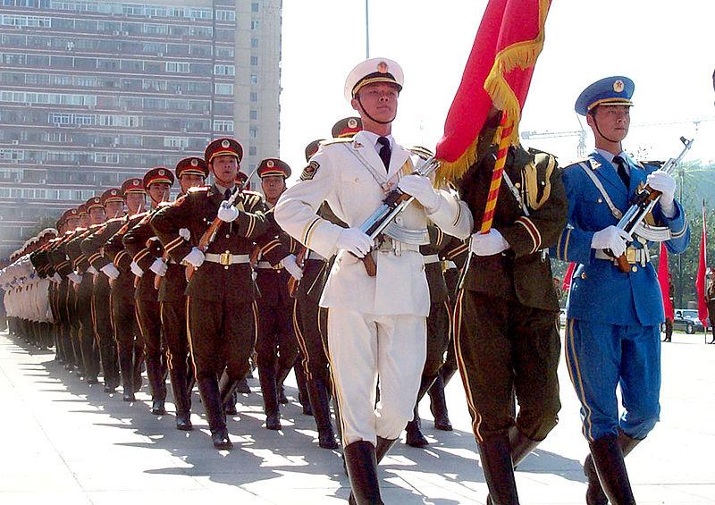 Chinas Volksbefreiungsarmee (VBA) zelebriert 90. Gründungstag