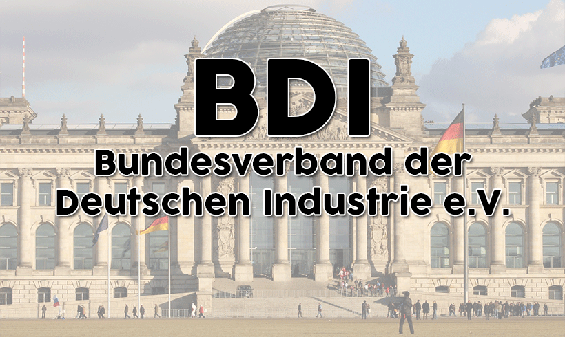 Industrieverband BDI: Ein Programm für die nächste Bundesregierung, Teil II - von Thomas Stark