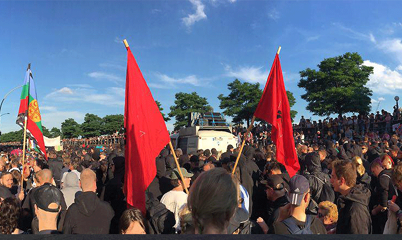 Bonner AktivistInnen rücken zusammen gegen Repression bei G20