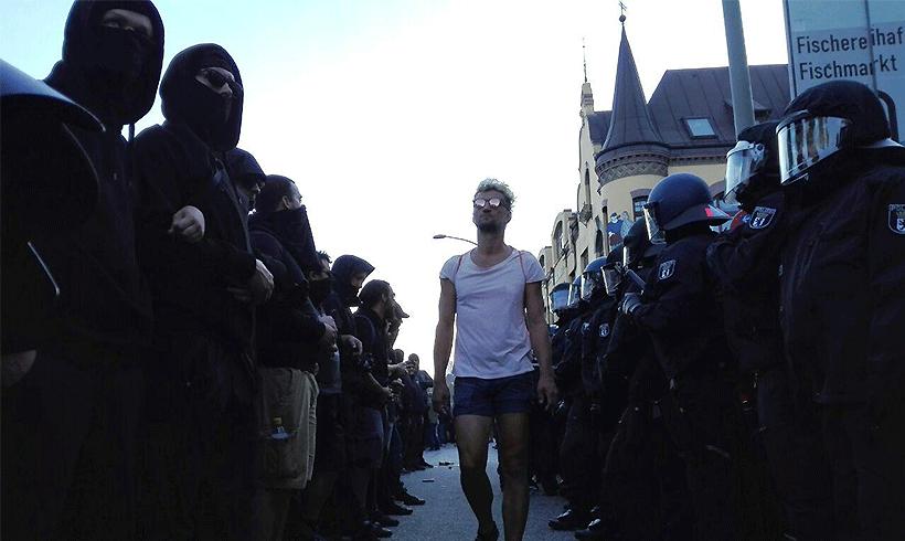 Anti-G20-Demonstrant Fabio V. ist frei