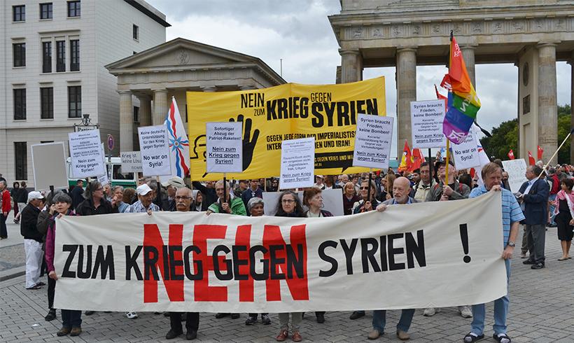 Mehr als 160 Kundgebungen zum Antikriegstag