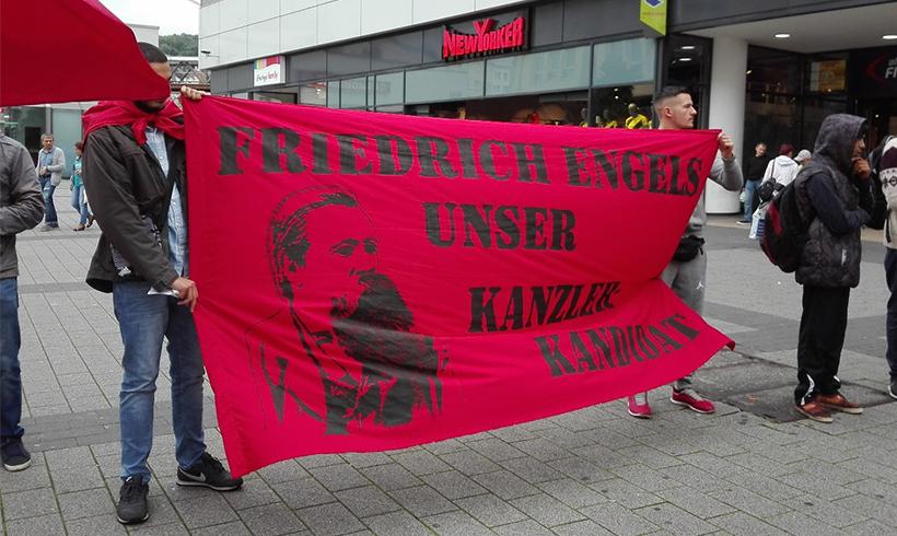 """""""Unser Kanzlerkandidat: Friedrich Engels"""""""