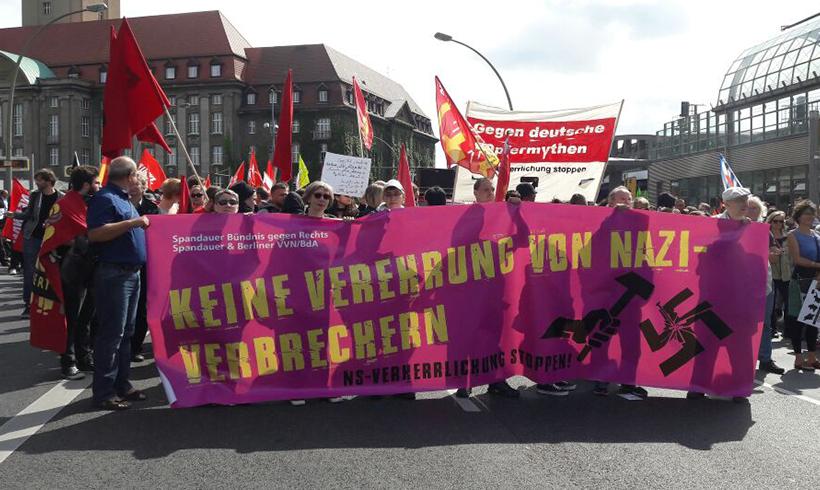 Berlin: Aufmarsch von Faschisten erfolgreich blockiert