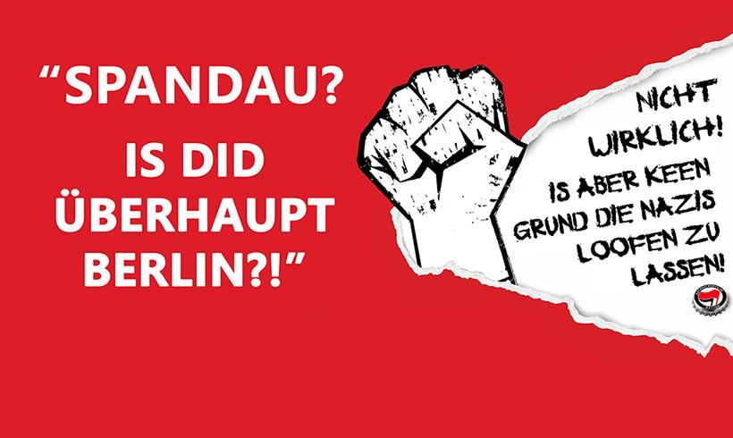 Militante Faschisten wollen Samstag in Berlin marschieren