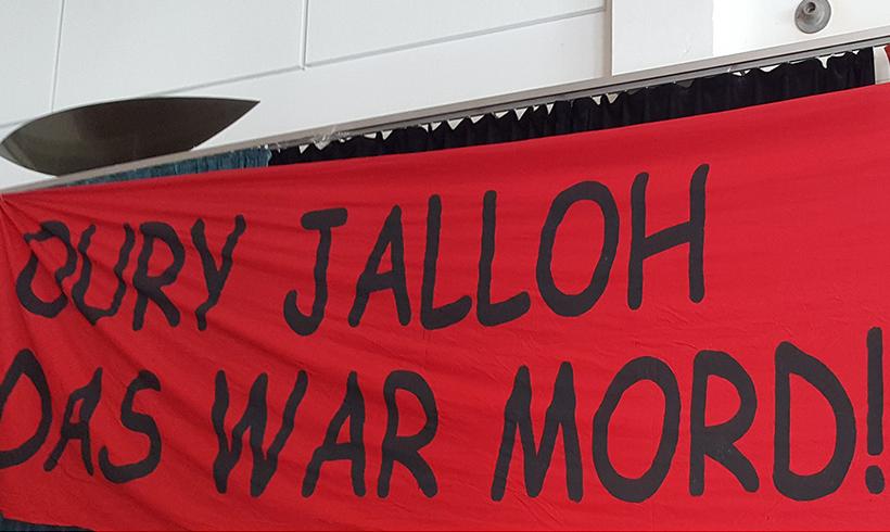 Oberstaatsanwalt geht von Mord an Oury Jalloh aus