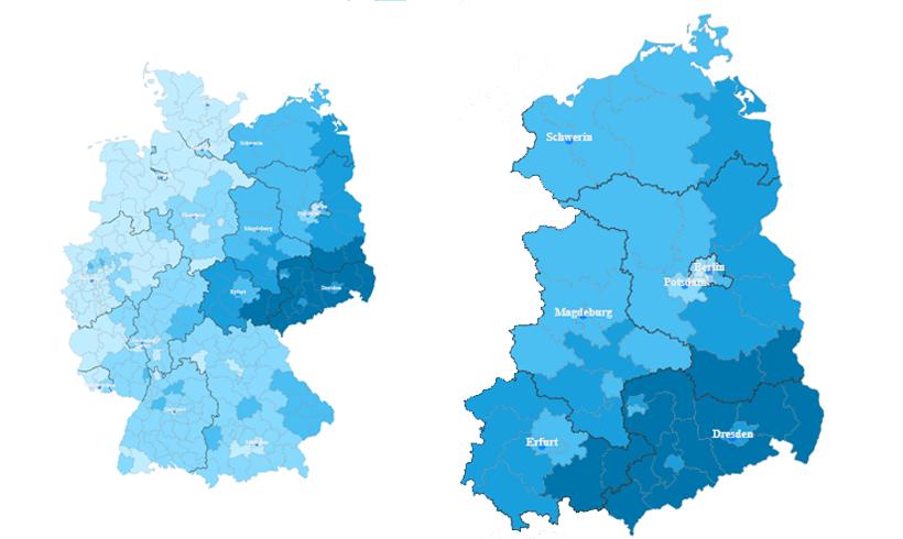 """Bundestagswahl im Osten Deutschlands und der """"Sieg"""" der AfD - von Linda May"""