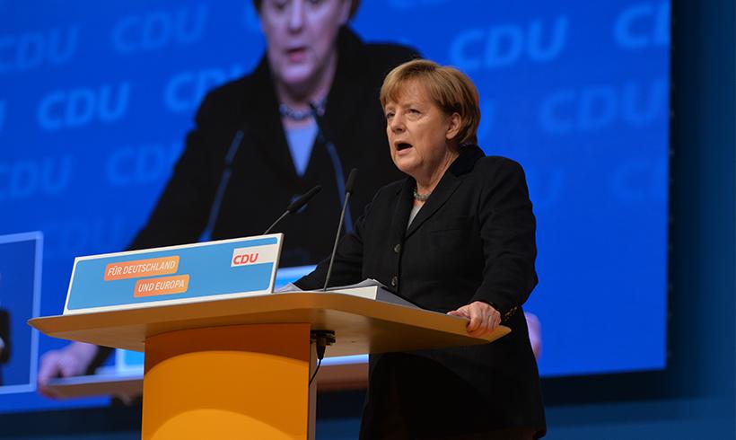 Merkel will Überwachung weiter ausbauen