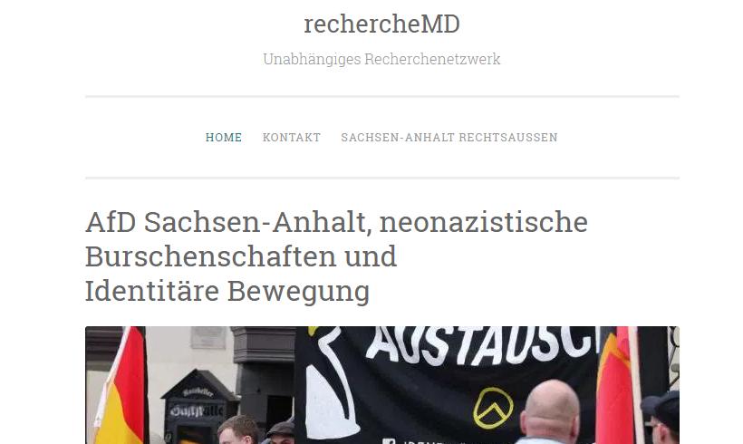 AfD will Recherche-Plattformen in Sachsen-Anhalt verbieten