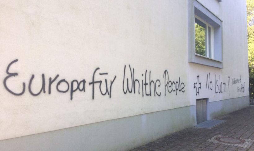 Cottbus: Rassistische Schmiereien im Stadtgebiet