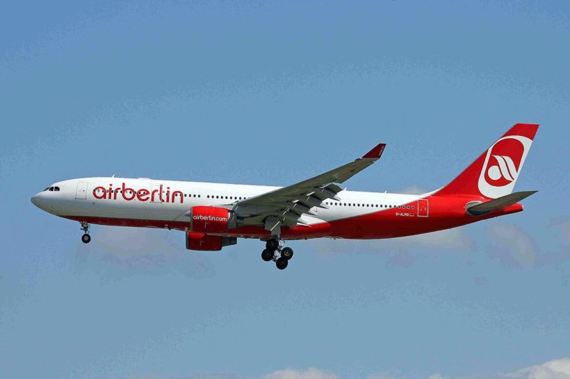 Air Berlin: der 150 Millionen-Euro Staats-Kredit kann möglicherweise nicht zurückgezahlt werden