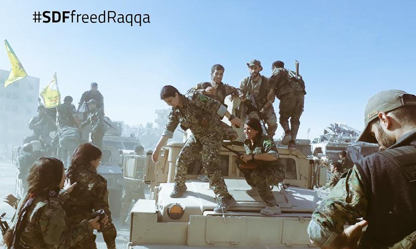 Raqqa ist vollständig befreit