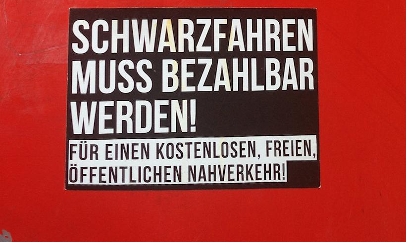 Gerichtsverfahren gegen Schwarzfahr-AktivistInnen