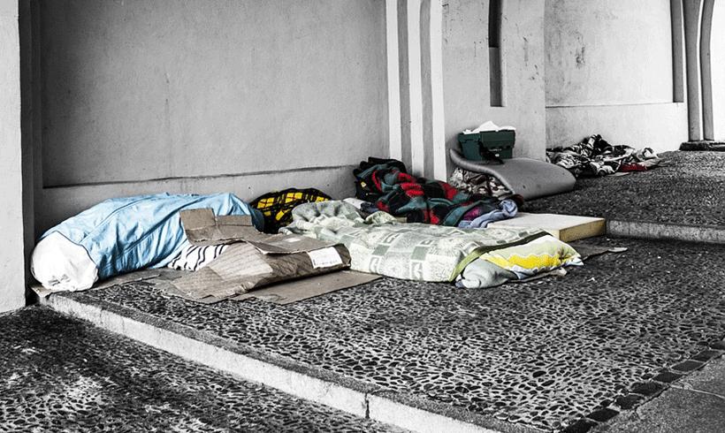 860.000 Menschen in Deutschland ohne Wohnung