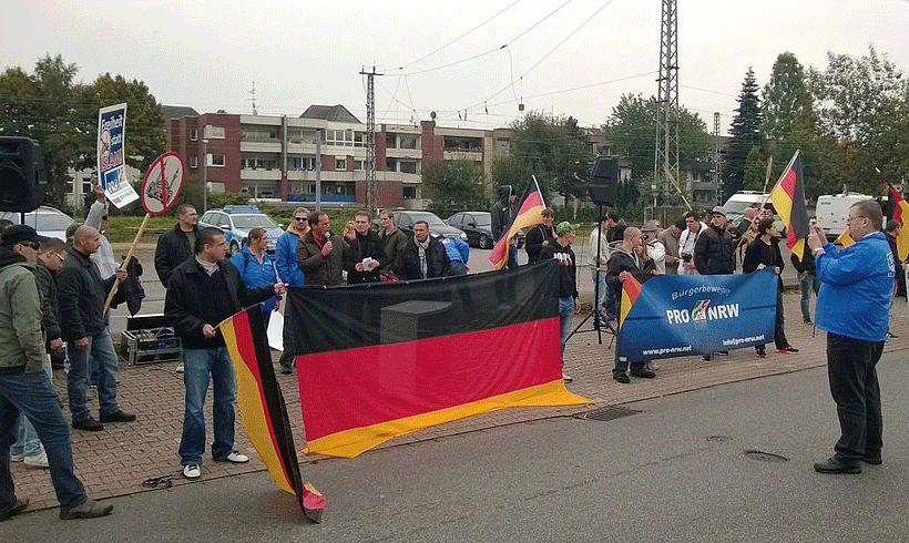 Pöbelnder Pegida-Demonstrant ist LKA-Beschäftigter