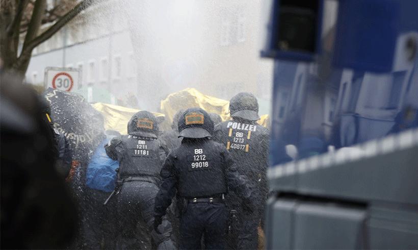 Proteste gegen AfD-Bundesparteitag