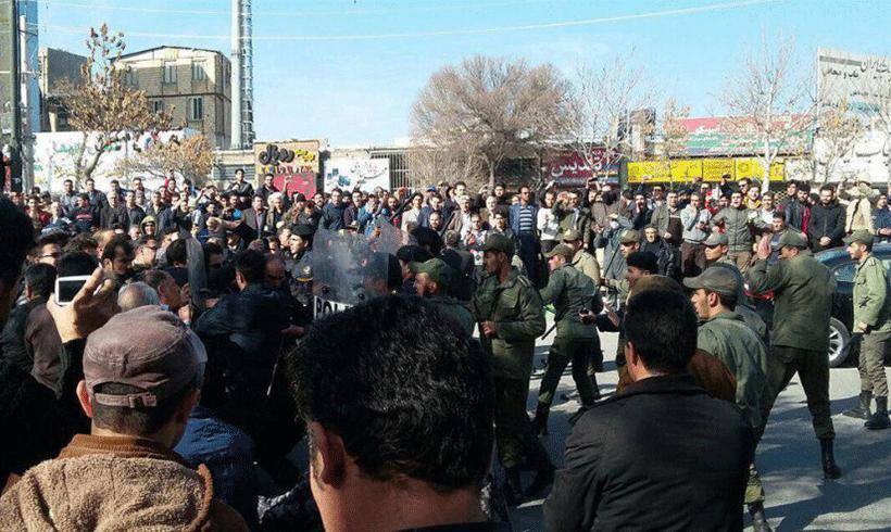 Proteste gegen die iranische Regierung