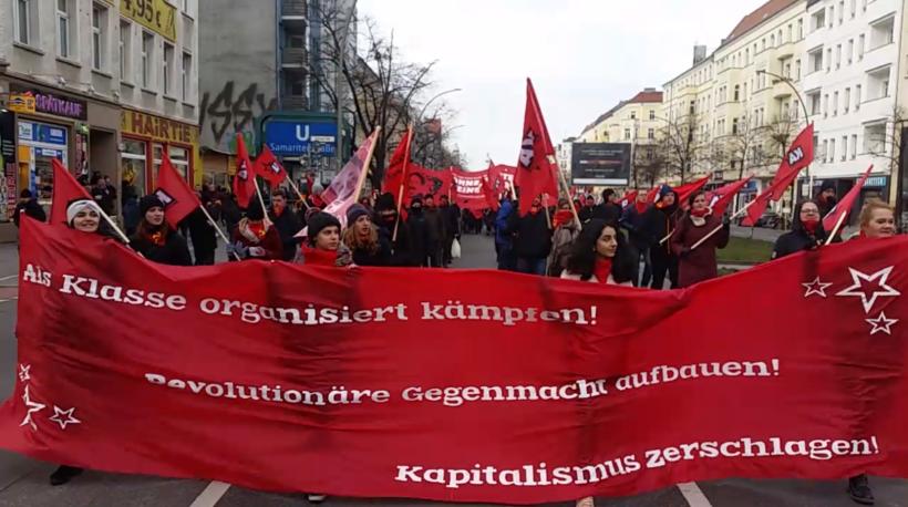 Berlin: Gedenken an kommunistische RevolutionärInnen – Polizei eskaliert mehrfach