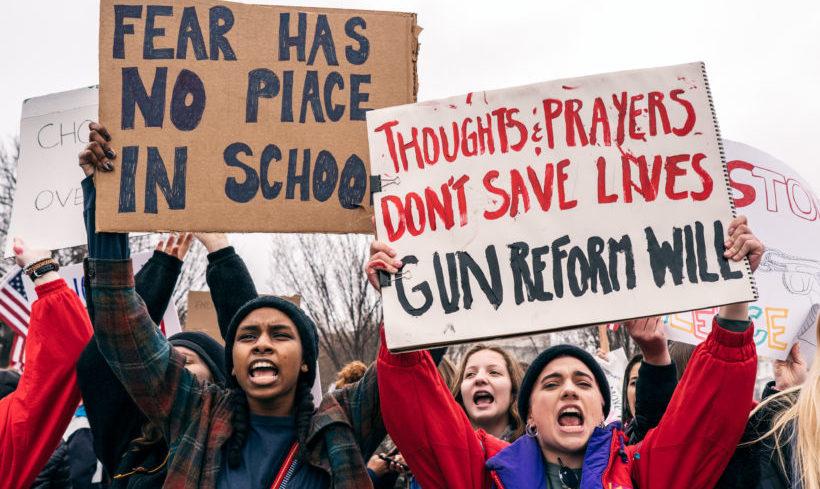 Widerstand gegen amerikanische Waffenlobby