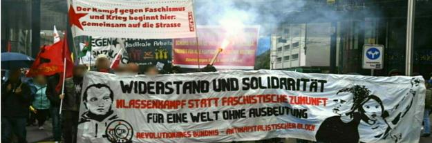 Hausdurchsuchungen beim Revolutionären Aufbau Schweiz