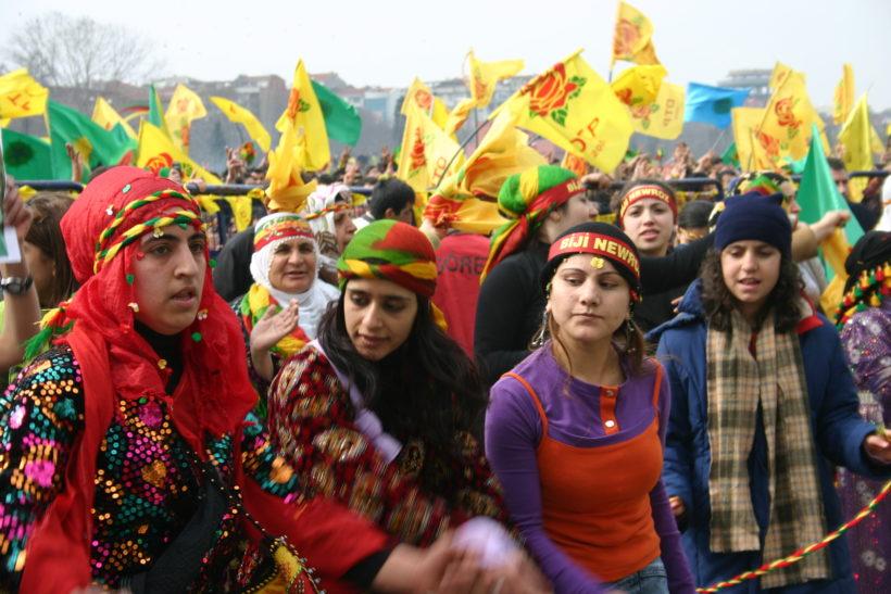 Feiern für Kurden verboten