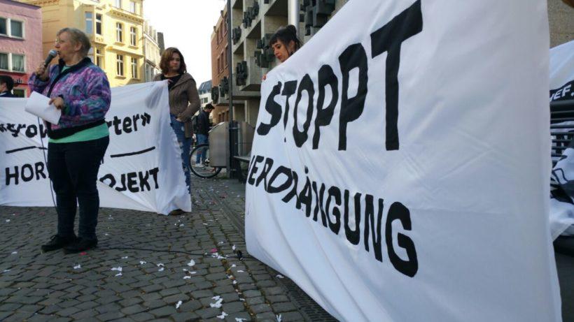 """Grow Smarter"": MieterInnen protestieren gegen Verdrängung"