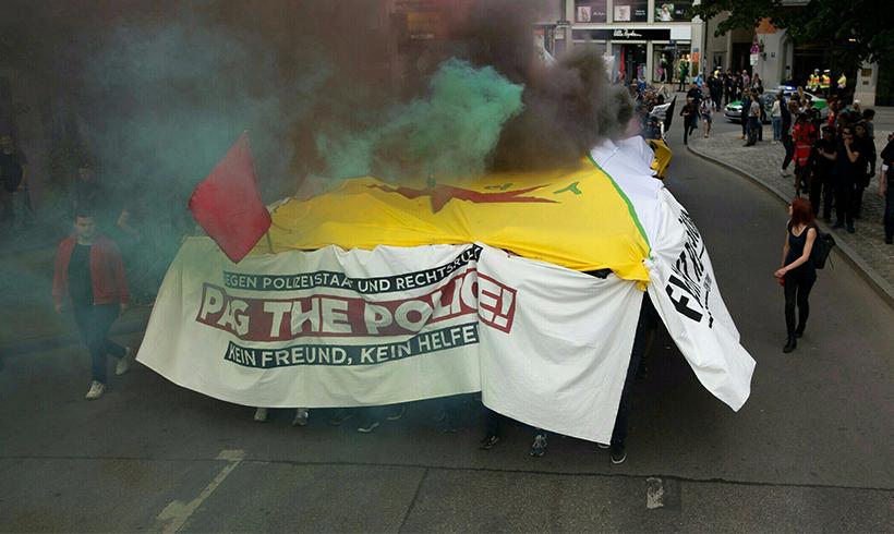 """Mehrere 10.000 demonstrieren gegen neues """"PAG"""" in München"""