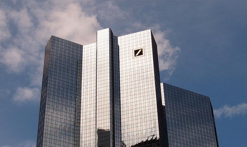 Deutsche Bank fällt bei