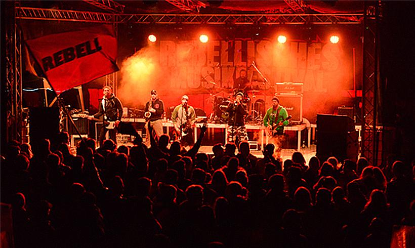 Polizei droht linkem Musikfestival in Thüringen