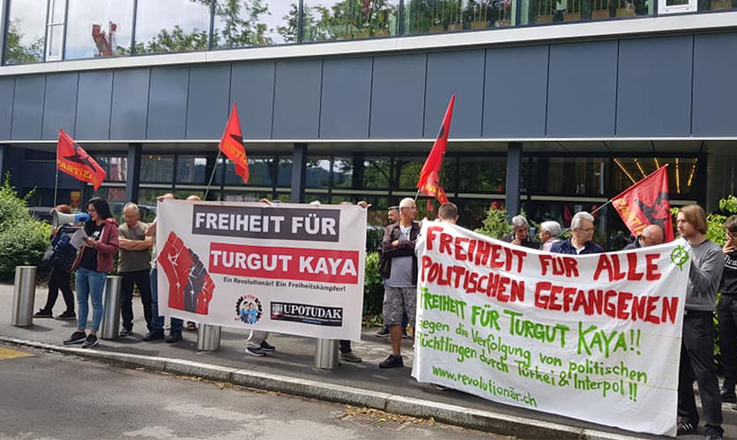 """""""Im Falle einer Auslieferung wäre das Leben von Turgut Kaya akut bedroht!"""""""