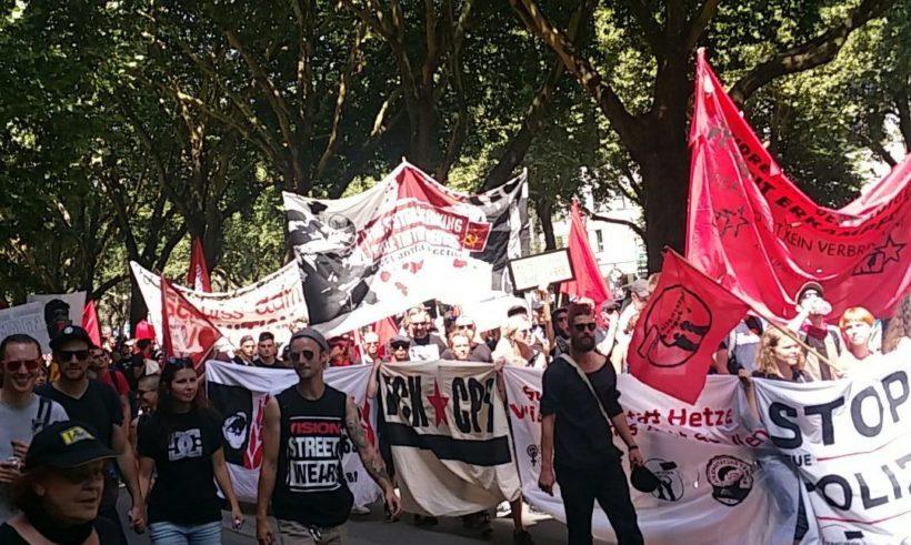 Großdemo in Düsseldorf: 20.000 demonstrieren gegen neues Polizeigesetz
