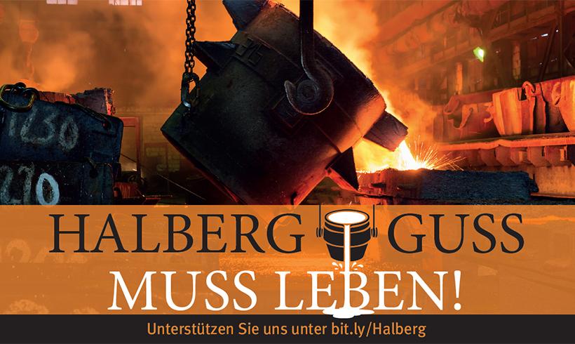 Schlichtung bei Neue Halberg-Guss vorerst gescheitert – Proteste angekündigt