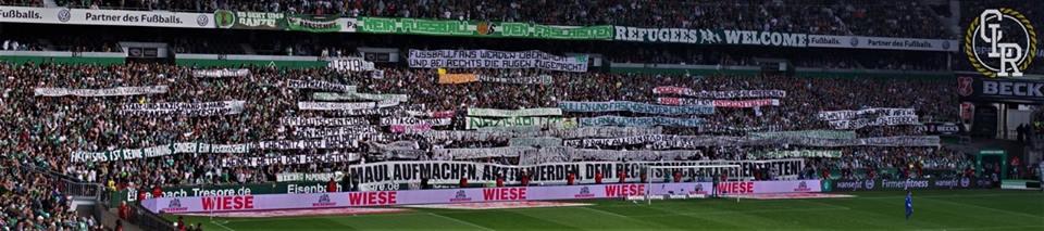 Deutscher Fußball ist nicht unpolitisch