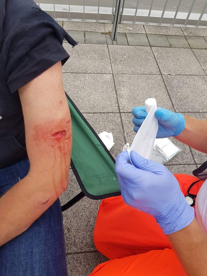 Kandel: Polizei-Kampfhund beißt linken Demonstranten