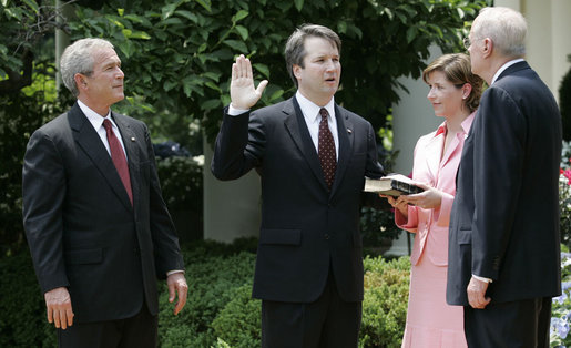 Kavanaugh ist Richter am Supreme Court