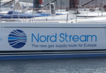 Pjotr Mahhonin, Spirit of Europe Nord Stream Sign Tallinn 19 May 2014 (https://commons.wikimedia.org/wiki/File:Spirit_of_Europe_Nord_Stream_Sign_Tallinn_19_May_2014.JPG), CC BY-SA 4.0 (https://creativecommons.org/licenses/by-sa/4.0/legalcode)