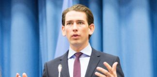 """Aussenminister Kurz beim Festakt 20 Jahre CTBTO"" (https://www.flickr.com/photos/minoritenplatz8/27545136562) by Bundesministerium für Europa, Integration und Äußeres is licensed under CC BY 2.0 (http://creativecommons.org/licenses/by/2.0)"